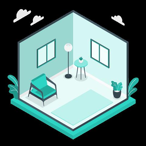 Salon ve Odaların Temizliği